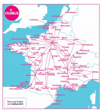Carte réseau OUIBUS