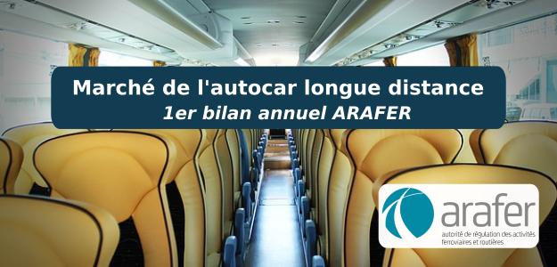 Bilan annuel marché autocar Macron par l'Arafer