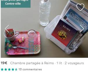 Chambre Airbnb à Reims