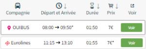 Bus Aller Paris-Reims