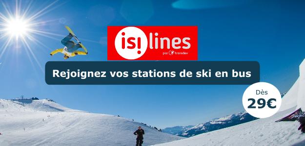 Isilines Stations de ski en bus