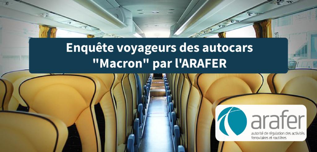 """enquête voyageur autocars """"Macron"""""""