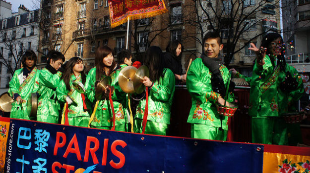 Nouvel an chinois 2017 à Paris