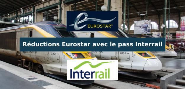 Réductions eurostar avec pass interrail