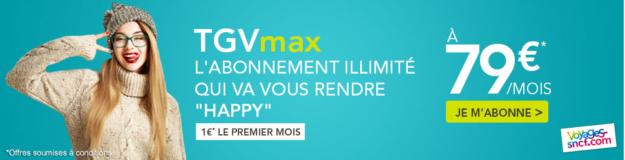 Train illimité TGVmax jeunes