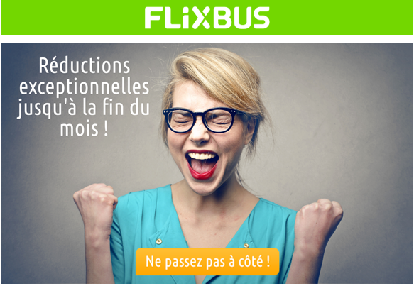 r ductions flixbus de retour comparabus blog. Black Bedroom Furniture Sets. Home Design Ideas