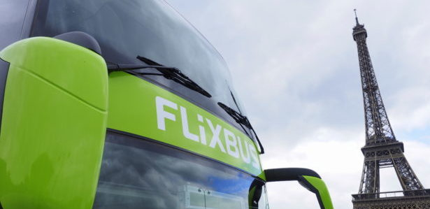 Bus Paris Aéroport de Paris FlixBus