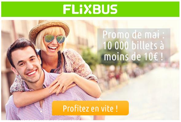 Promo FlixBus de mai