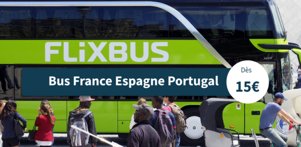 Bus France Espagne Portugal de FlixBus