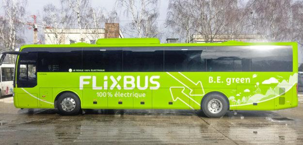 Bus Paris Amiens FlixBus Ecologique