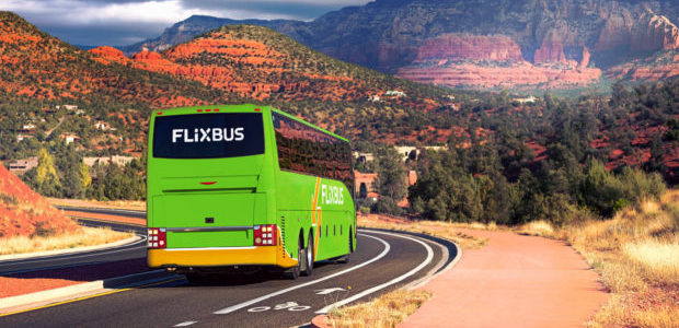 FlixBus bus Etats-Unis USA