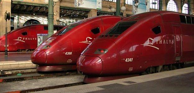 Thalys gare Marne-La-Vallée
