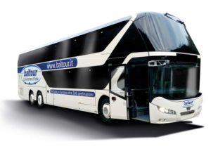 Baltour bus company Italy