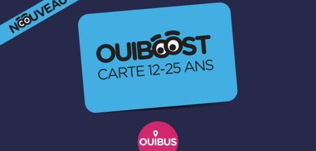 Carte jeune OUIBOOST Ouibus réductions prix tarifs