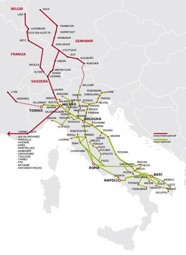 Marinobus carte des lignes de bus, réseau, destinations, villes desservie