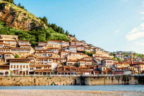 Historic city of Berat in Albania, World Heritage Site by UNESCO