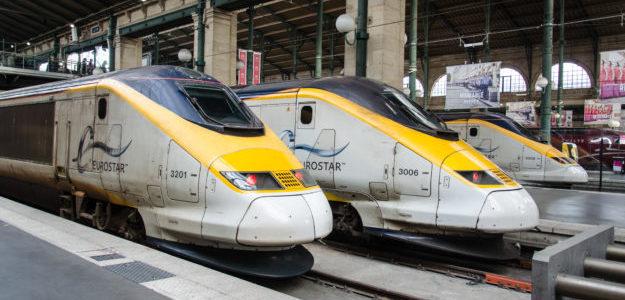 Photo de train Eurostar