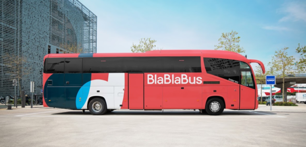 Blablabus lignes bus France Europe
