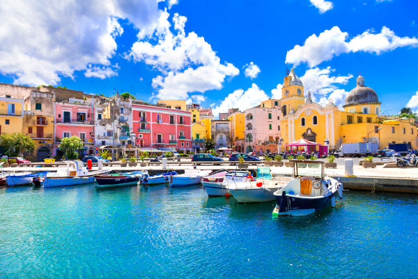 Naples-thousands of colors, residences and palaces