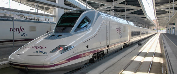 Renfe, Renfe Avlo railway company in Spain, AVE hig speed train