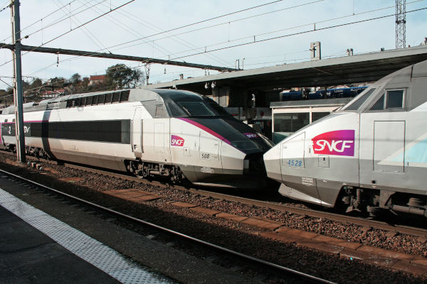 best one is SNCF through Train