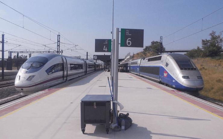 Competencia del tren en España