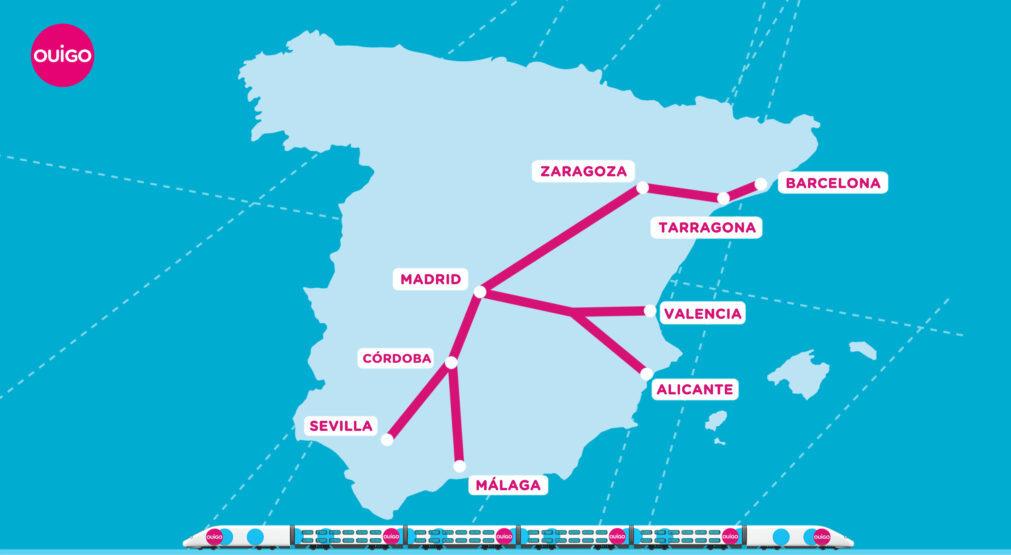 OUIGO arrive en Espagne