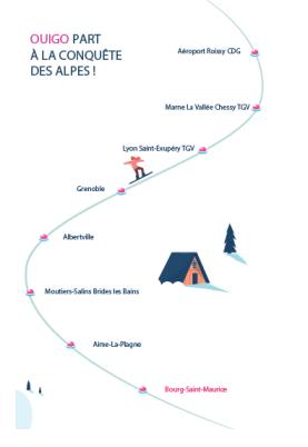 Arrêts OUIGO Alpes